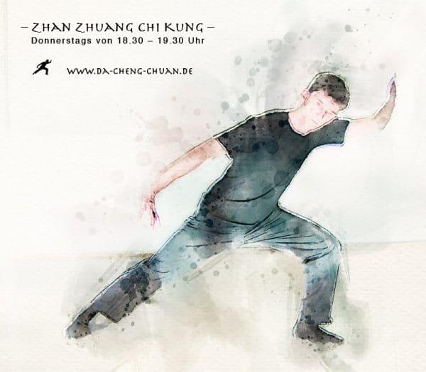 Zhan Zhuang Chi Kung Basistraining am Donnerstag von 18.30 bis 19.30 Uhr