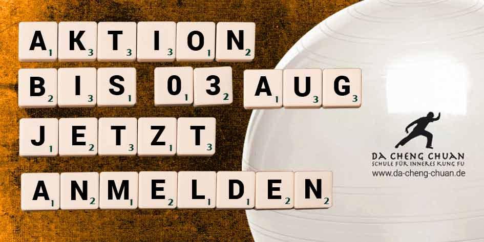 Aktion für Neuanmeldungen bis 08. August 2019