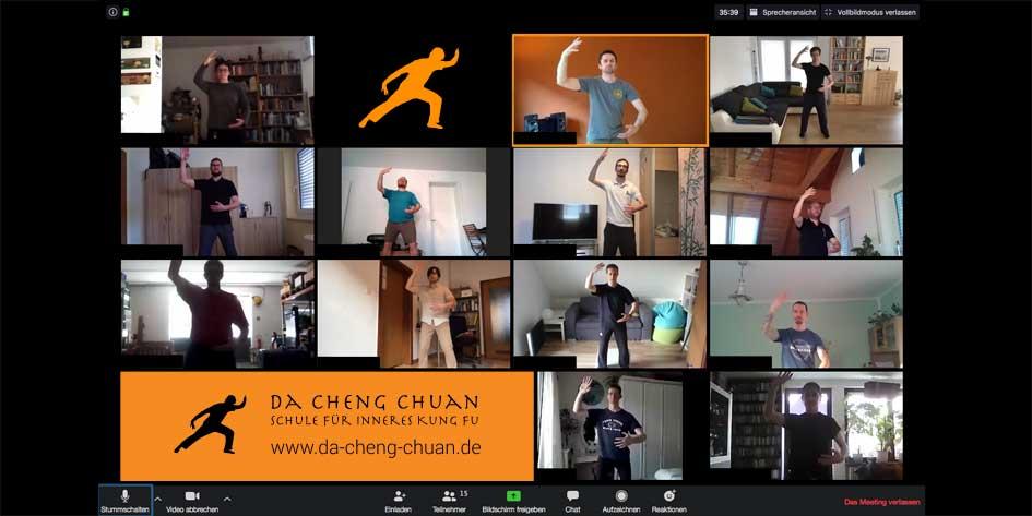 Aktion: Mach mit bei unserem kostenlosen Chi Kung Video-Training (Qi Gong Training) - Thumbnails / Übersicht Teilnehmer