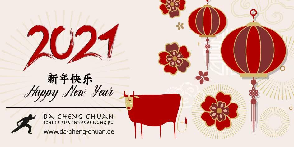 Chinesisches Neues Jahr 2021 – Das Jahr des Ochsen / Chinese New Year 2021 – Year of the Ox